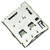 推出超薄插拔式Micro-SIM卡座连接器 SNO-1309