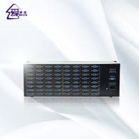 美佳爱 24进8出16出24出32出VGA矩阵切换器 高清监控视频矩阵主机