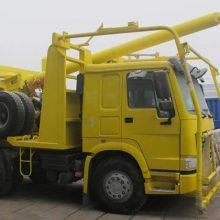 圆木运输车,专供出口非洲、6×6全轮西伯利亚森林木材运输车