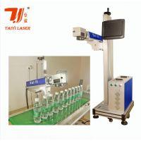 东莞台谊激光生产矿泉水瓶流水线自动打标机|飞行流水打标机