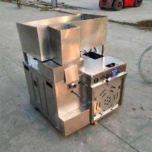 山东多功能小型不锈钢食品膨化机 柴油带动膨化机