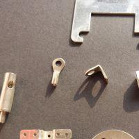 厂家直销五金冲压加工弹片机械车床零配件加工定制开模具设计
