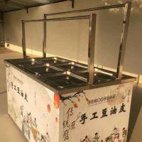 省电蒸汽酒店油皮机 24盒燃气全自动腐竹机 广东4盒6盒混搭方盘豆皮机