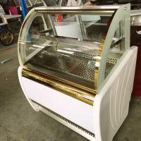 冰友牌单排冰淇淋冰糖葫芦展示柜-25度冷藏柜法国泰康压缩机