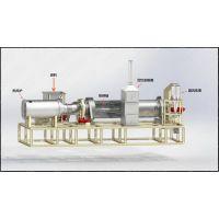 土霸王污泥干燥机减量化设备、污泥干燥机、污泥减量设备、直接加热干燥机