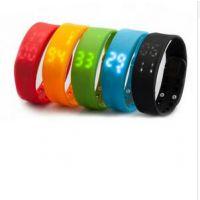 工厂直销W2多功能智能3D手环支持PC端智能穿戴运动手环