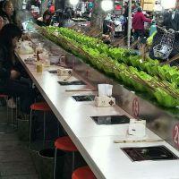 桂林转转寿司传送带 回转寿司设备专业快速