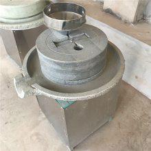 新型低速研磨豆浆石磨机复古电动石磨机
