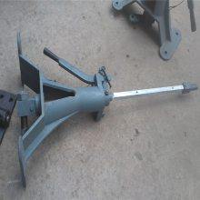 P50立式道岔扳道器 鲁恒供应带信号灯的轨道扳道器