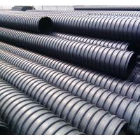 贵州遵义HDPE钢带增强螺旋波纹管