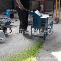 家用电鲜秸杆打浆机 圣鲁400型白菜打浆机 多功能草浆机