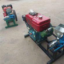 柴油动力玉米膨化机 单缸可移动型五谷杂粮膨化机
