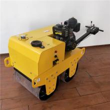 小型手扶式双钢轮压路机震动柴油压路机振动碾沥青方回填沟渠土