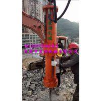 矿山开采石英石大型劈裂机破石现场的最新资讯