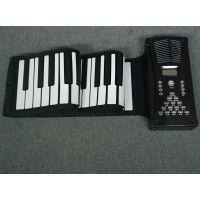 博锐品牌88键一体式手卷电子琴现货供应