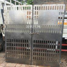 济南楼层防护门厂家 定型化围挡 工地临时基坑围栏价格