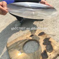 1100*1100mm 深圳厂家直销大尺寸圆形菲涅尔透镜太阳能聚光发热