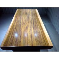 非洲奥坎实木大板桌200长90宽 大板餐桌茶台画案会议桌办公桌原木简约家具台面