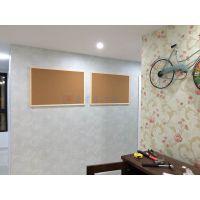 广州挂式公告板L白云高密度软木卷材C荔湾照片墙背景板