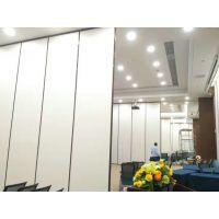 厦门万科会议室隔断屏风安装现场 盖亚80型