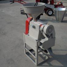 小型电动脱皮机 家用水稻碾米机 圣鲁脱皮碾米机