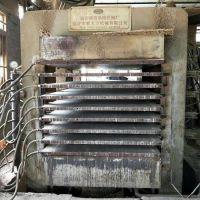 8成新 新天力产4x8尺10层二手细木工板热压机