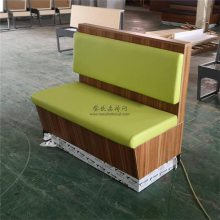 肇庆卡座沙发定制,简约皮制软包沙发座椅