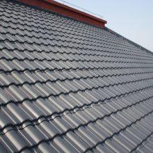 个人家屋顶彩钢板、沥青瓦改造换瓦 不用拆除可安装大连凡美氟塑彩瓦