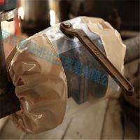 防泄漏透明阀门保护罩 聚四氟乙烯阀门保护套 化工管道阀门防护套