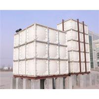 河北淮方热销供应玻璃钢生活水箱 方形水箱