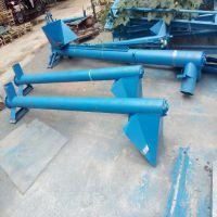 晋州市蛟龙式螺旋输送机 六九农业颗粒碳钢铁管蛟龙提升机