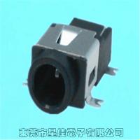 星佳防水DC插座批发价 安卓诺基亚小型电源插座 电动车充电插口DC-042