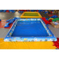 藏龙畅销充气沙滩池 广场儿童充气沙池 决明子沙滩玩具游乐园