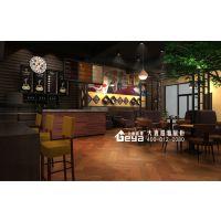 南京咖啡吧设计制作公司厂家-商业展示柜店铺统建