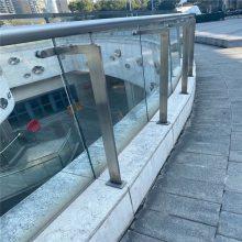 耀恒 景观桥梁河道护栏 复合管异型护栏 不锈钢组装栏杆