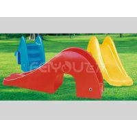 塑料儿童玩具鲸鱼钻洞滑梯FY23203