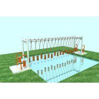 水上拓展设备——吊桩桥