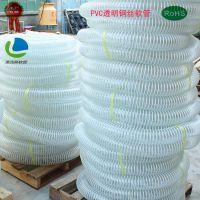 供应PVC透明钢丝软管 PVC塑筋增强软管 厂家直销
