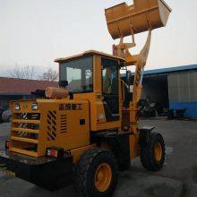 厂家销售52马力无极变速铲车 1.8米铲斗自动挡挖掘机 轮式装载机