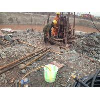 专业钻岩石井;水量1-50吨,深度20-500米。岩石地源井。