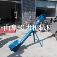 加工定做 粘土螺旋输送机 物料提升机 管式上料机 骏力