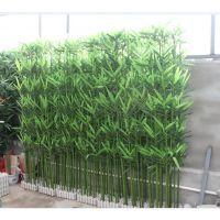河南假竹子郑州仿真竹子塑料竹子仿真毛竹围挡竹子屏风带底座竹子