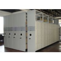 批发密集柜 钢制文件柜 档案柜 手摇移动 库房档案柜 禄米实验室设备