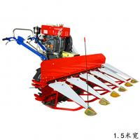 芦苇秸秆收割机 手扶式稻麦割晒机 汽油单行的割豆子机