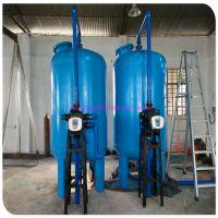 宁明县水处理工程专用石英砂过滤器 清又清全自动正反冲洗过滤器环保污水处理设备