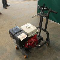 小型路面开槽机凹槽扩孔机 路面养护用的晨腾开缝机