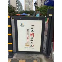 供应吉林长春小区坤捷KJ-GF广告门可以安装广告