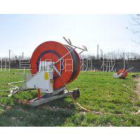 新款畅销大面积小麦灌溉机节水农用喷灌机自动卷管浇地机