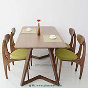 餐厅家具批发 实木餐桌 地中海餐桌定制 实木餐桌椅报价