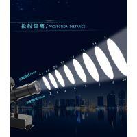 银色户外投影广告灯 广告投影灯怎么安装